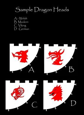 sampler dragon heads 1
